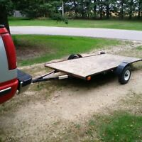 4x8 ft utility trailer