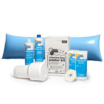 Winterizing Closing Kit With 4'x8' Air Pillow For Swimming Pools Up To 15 K Gal