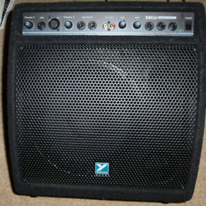 SALE PENDING ----  Keyboard Amp, Yorkville wedge, 50W