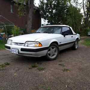 89 mustang 5.0 LX convertable