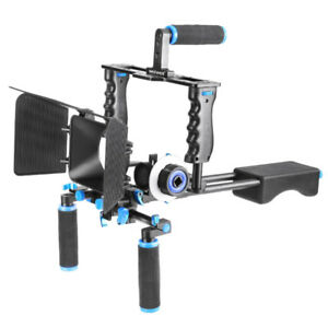 Neewer movie camera DSLR rig, handle, and more