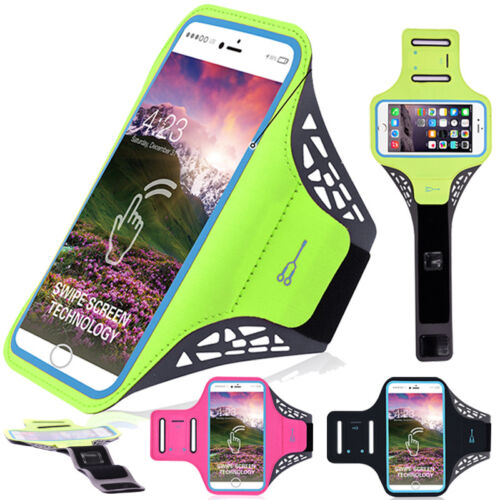 For iPhone 11 Pro/XS Max/XR/X/7/8 Plus Sports Armband Case Running Jogging Pouch