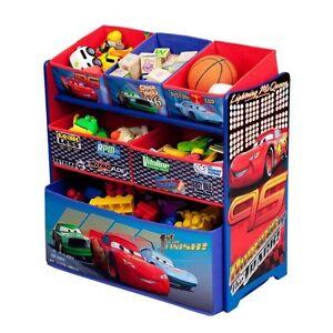 cars toy bin