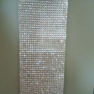 Diamond ribbon. Decoration for weddings