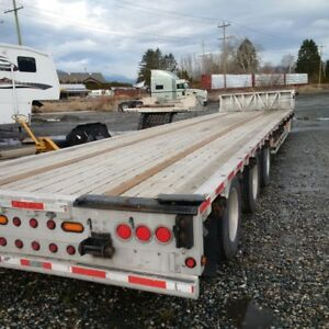 Ca. Spec - 51 Ft Tridem Step Deck Trailer - Rear Axle (Air Lift)