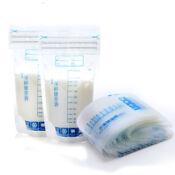 30pcs Breast Storage Milk Bags Pack Baby Clear Bag Food Freezing Reusable 250m