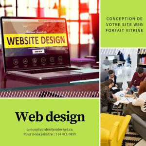 Conception de site web wordpress - web design Longueuil - 575$