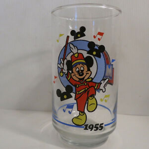 Complete Set of 6 Mickey Mouse Glasses Sunoco Canada 1928 - 1988 Kitchener / Waterloo Kitchener Area image 4