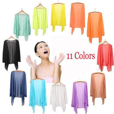 Womens Casual Long Sleeve Cardigan Thin Sweater Coat Outwear Tops Coat 9 Colors