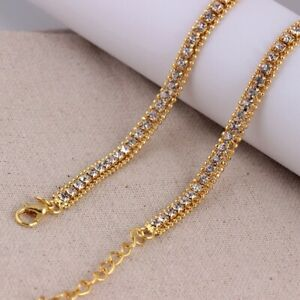 Gold Plated Iced Chains