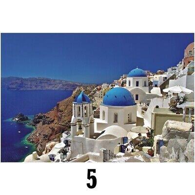 1000 Pieces Adult Puzzles Aegean Sea Puzzle Landscape Style