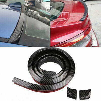 Für Auto Fahrzeuge Kofferraumspoiler Heckspoiler Spoiler Lippe Carbon Neu Stil