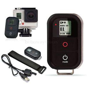 Wireless WiFi Remote Control Shutter For GoPro Hero 4/ 3+/3 HD Camera New BoBo