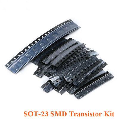 18 Value20pcs Smd Sot-23 Transistor Kit Set Npn Pnp Sot-23 360pcs