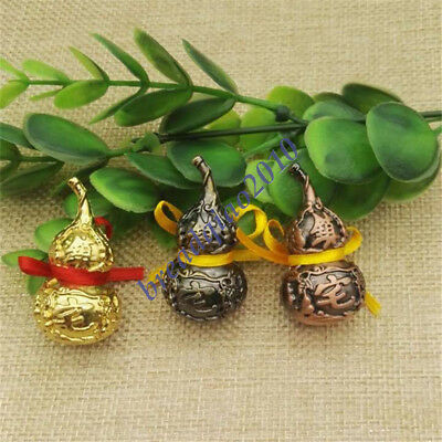 Feng Shui Natural Brass Wu Lou Luo Lu Health Enhance Good Luck Gourd for sale  China