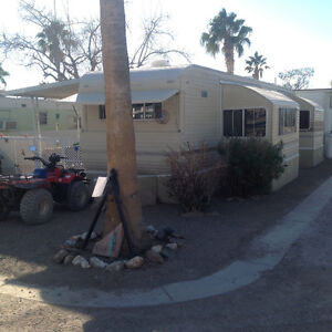 Nice trailer for sale in Quartzsite Arizona for 5000$ Canadian