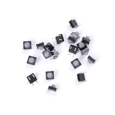 20x 8x8x5mm 4pin Tactile Push Button Micro Switch Direct Self Reset Soundless Fl