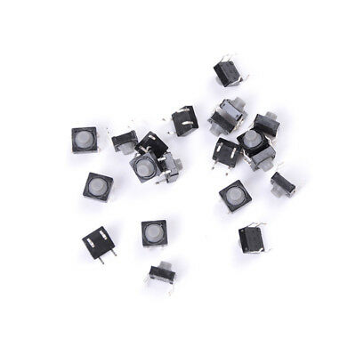 20x 8x8x5mm 4pin Tactile Push Button Micro Switch Direct Self Reset Soundless Hi