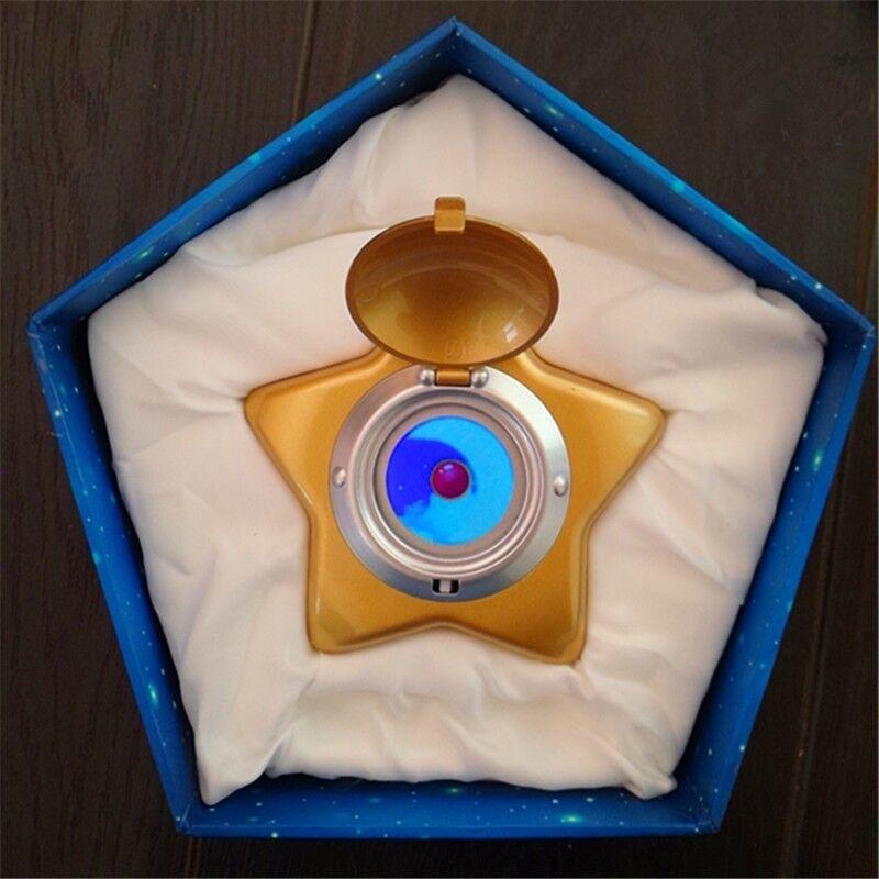Sailor Moon Cosplay Moonlight Memory Star Locket Starlit Sky Music Box Gift