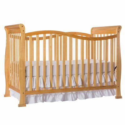 Convertible Crib 7 in 1 Baby Nursery Bed New Toddler Furnitu