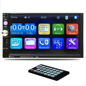 "Morrivoe Double Din 7"" touch screen"