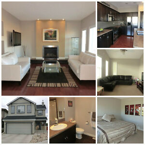 Well-appointed executive family home in SW Airdrie for rent