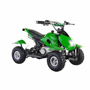 2017 GMX 49CC STARTER QUAD BIKE - GREEN Villawood Bankstown Area Preview