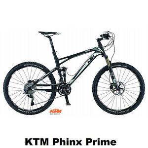 Mountainbike KTM Phinx Prime Carbon Shimano XTR Fully 48cm FOX UVP:4699€*
