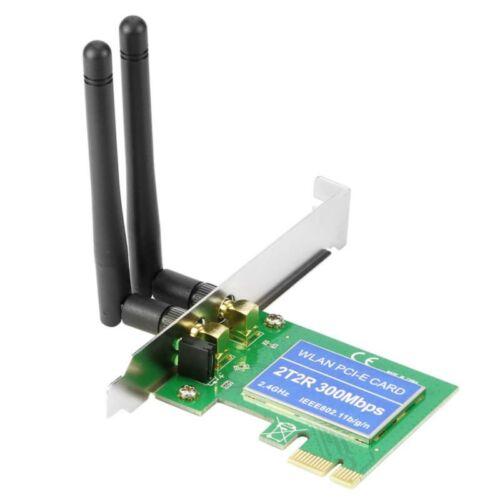300Mbps Wlan Empfänger PCI-E Adapter 2.4Ghz Wireless Dual Band PCI Express Karte