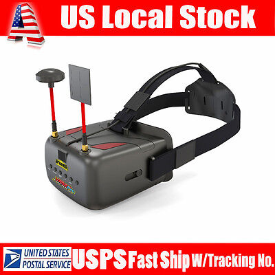 """Eachine VR D2 Pro 5.8G 40CH 5"""" FPV Goggles Glasses Video Monitor for Race Drone"""