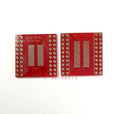 2pcs Sosopsoicssoptssopmsop 40 Pin 0.65mm 0.8mm To Dip Pcb Board Converter