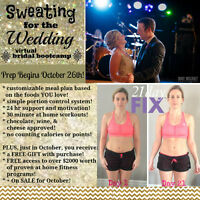 Sweating for the Wedding!