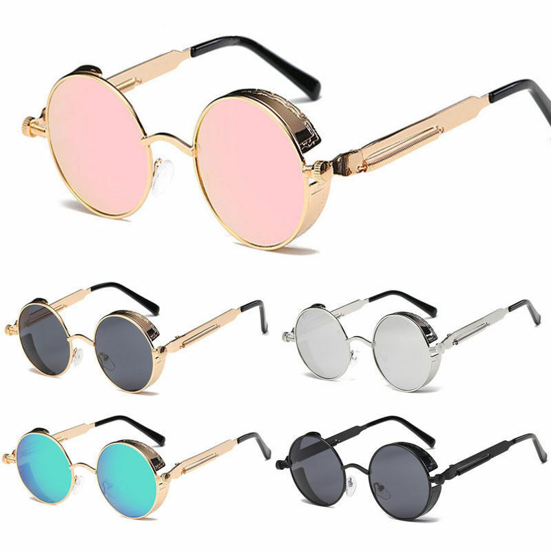Vintage Retro Steampunk Sunglasses Goggle Classic Fashion Ro