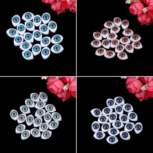 20X Plastic Teddy Doll Safety Eyes For Animal Toy Puppet Making Craft DIY