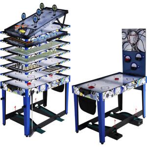 MD Sports 48 Inch 13-In-1 Multi-Game Table (With All Accessories