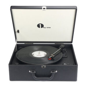 Perfect Gift! Brand New Suit-case Style Turntable Speaker