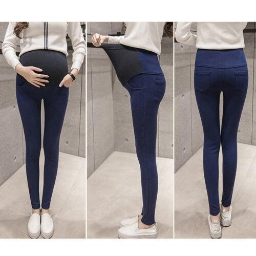 Брюки с завышенной талией для беременных 19