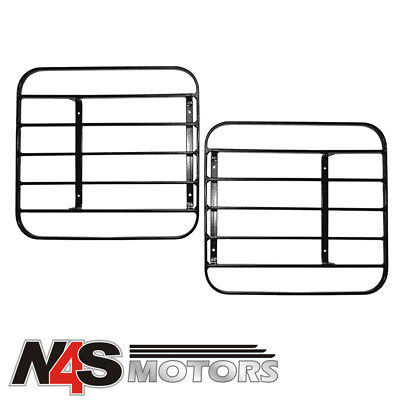 LAND ROVER DEFENDER 1986 TO 2006 HINGED LAMP GUARDS. PART RTC8969