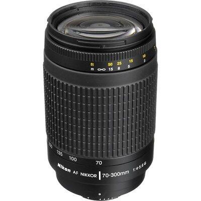 Nikon AF Zoom NIKKOR 70-300mm f/4-5.6G Objektiv - Neu