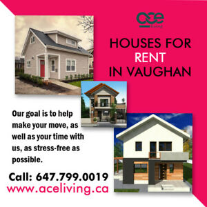 House For Rent in Vaughan - Rental Properties in Vaughan