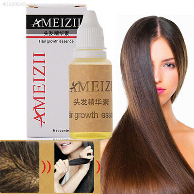 AMEIZII Prevent HAIR LOSS Brown Building Liquid 20ml HAIR Growth Essence