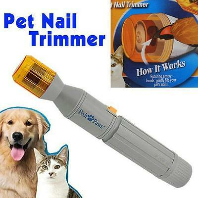 Newest Pedi Paws Nail Trimmer Grinder Grooming Tool Care Clipper For Pet Dog Cat