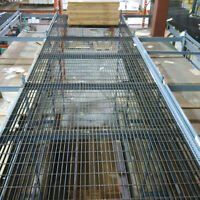 Steel bar grate for mezzanine floor and catwalks