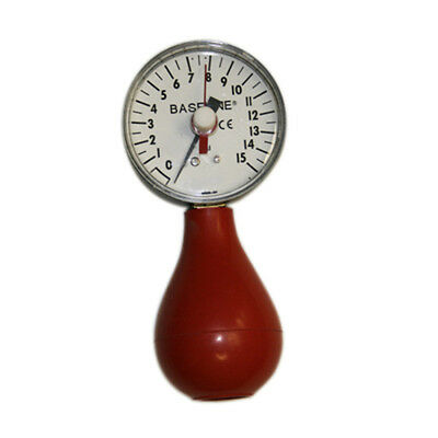 Baseline 12-0293 Dynamometer Pneumatic Squeeze Bulb With Reset 15 PSI Capacity Baseline Pneumatic Squeeze Dynamometer