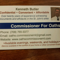 Commissioner For Oaths Service