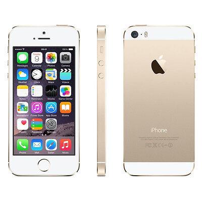 Apple iPhone 5s - 16GB - Gold (Verizon) Smartphone CLEAN ESN