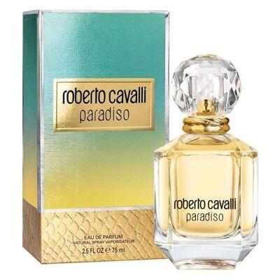 ROBERTO CAVALLI PARADISO 75ML EAU DE PARFUM SPRAY BRAND NEW & SEALED