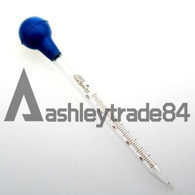 Rubber Head Glass Dropper Glass Pipettes Dropper 5ml Scale Line