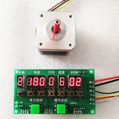 Stepper Motor Driver Controller Module Directiontime Programmable Board Dc8-27v