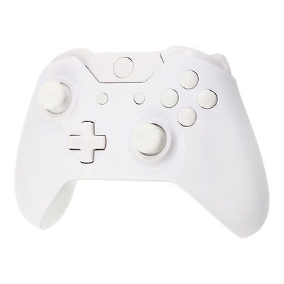 White Full Housing Shell Case Kit Replacement Parts for Xbox One Controller US
